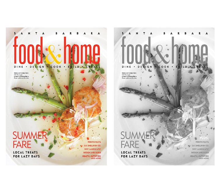 Featured in Food & Home Summer 2012